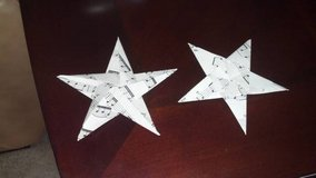 100+ Origami Stars - Vintage Sheet Music in Dothan, Alabama