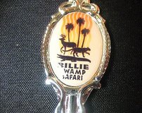 billie swamp safari florida engraved usa state collector souvenir spoon travel in Kingwood, Texas