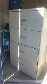 Lateral 4 drawer Metal File Cabinet in Great Lakes, Illinois