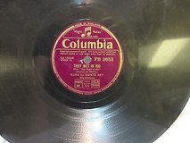 "antique 1941 they met in rio rey 78 rpm record etched album 10"" double sided in Kingwood, Texas"