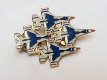 NEW Air Force Thunderbirds usa military navy diamond formation jet aircraft airplane pin in Kingwood, Texas