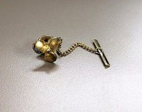 Collectible vintage gold tone propeller boat fish camp sail tie tack clasp clip in Houston, Texas