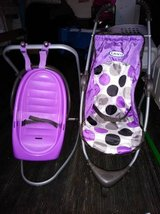 Toy Graco Doll Stroller and Swing - Purple in Sacramento, California