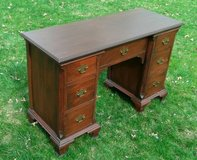"Antique Mahogany Desk  (apx. 47"" x 18"" writing surface) in Bartlett, Illinois"