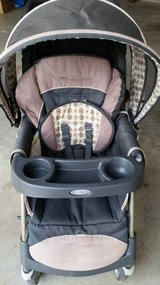Graco Urban Travel System Stroller 5-Point Harness 50-lb Weight Capacity w/ bag in Camp Lejeune, North Carolina