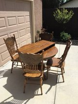 6 Piece wood Dining Set in Travis AFB, California