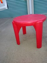 Tiny Tikes Red Table in Roseville, California