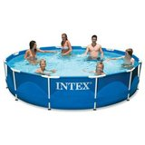 Intex Intex 12ft X 30in Metal Frame Pool Set with Filter Pump in Glendale Heights, Illinois