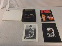 4 hollywood movie press kits die hard 2, house, the bear, love letters 34012 in Huntington Beach, California