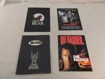 4 hollywood movie press kits die hard 2, the blob, the bear, teenage exorcist 34011 in Fort Carson, Colorado