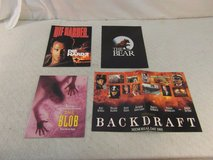 4 hollywood movie press kits die hard 2, the blob, the bear, backdraft 34010 in Fort Carson, Colorado