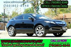 2013 Acura ZDX SH-AWD Ask for Louis (760) 802-8348 in Camp Pendleton, California