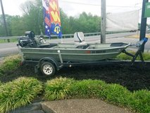 Deer Craft flat bottom boat! in Great Lakes, Illinois