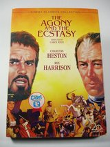 The Agony and the Ecstasy Charlton Heston DVD Movie NEW in Batavia, Illinois