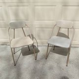 SET OF 2 VINTAGE COSCO STYLAIRE FOLDING CHAIRS in Bartlett, Illinois