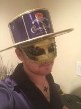 Crown Royal Man Costume in Baytown, Texas