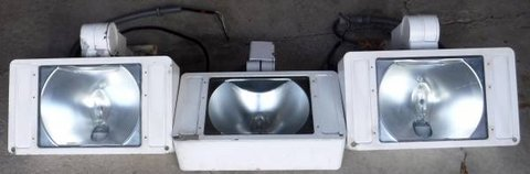 (3) Industrial Grade Flood Lights - Ruud High Output in Chicago, Illinois