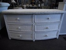 Cottage Wicker Dresser in Elgin, Illinois