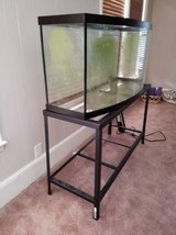 72 Gallon Glass Bow Front Aquarium & Stand in Fort Jackson, South Carolina