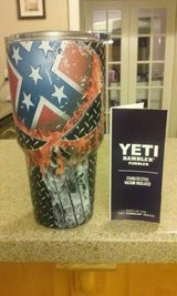 Yeti 30oz Rambler w/ Punisher Rebel Flag in Warner Robins, Georgia