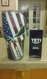 Yeti 30oz Rambler w/ Punisher American Flag in Warner Robins, Georgia