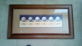 Framed Print of the Evolution of Golf Balls in Dothan, Alabama
