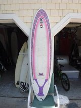 Surfboard > 6'8 NSP Surfboard/Girls board/Pretty in Wilmington, North Carolina