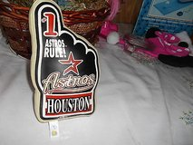 Houston Astros Baseball Stuffed Hand and Finger Souvenir! Unique Good condition in Kingwood, Texas