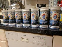 G. Heileman Old Style Collector Beer Mugs - 1985 in Naperville, Illinois