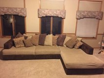 Sectional with chaise in Naperville, Illinois