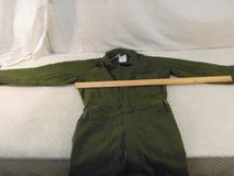 nwt men's medium type i sateen 100% cotton lajas industries military coveralls 34093 in Fort Carson, Colorado