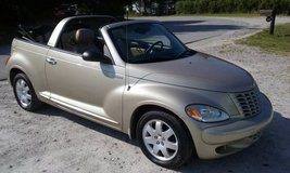 '05 Chrysler PT Cruiser Convertible, Automatic, Cold AC, New Top+Tires in Camp Lejeune, North Carolina