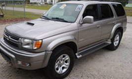 2002 Toyota 4-Runner SR5, 4x4, V6, Automatic, Sunroof, New Tires, NICE in Camp Lejeune, North Carolina