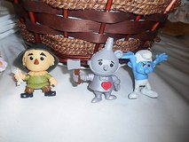 3 mcdonald's happy meal toys- wizard of oz tin man and scarecrow + hefty smurf! in Spring, Texas