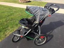 ~JOGGING STROLLER WITH MP3 SPEAKERS~ in Naperville, Illinois