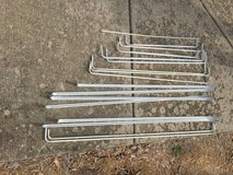 Assorted sized curtain rods in Naperville, Illinois