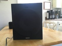 Sony sub Woofer SA W 2500 in Naperville, Illinois