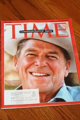 Ronald Reagan Time Magazine Commemorative Issue June 14, 2004 in Kingwood, Texas