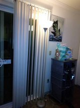 Stand up floor lamp with white shade in Travis AFB, California