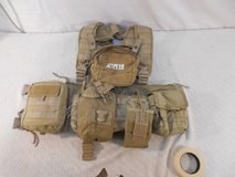 custom bds tactical gear v-ops titan chest rig 8 bungee mag med pouch bib 41082 in Fort Carson, Colorado