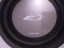 "alpine type-e swe-1042 1-way 10in. 10"" 10 4 owm car subwoofer sub 40847 in Huntington Beach, California"