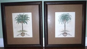 (2) Framed Art - Palm Tree Pictures in Chicago, Illinois