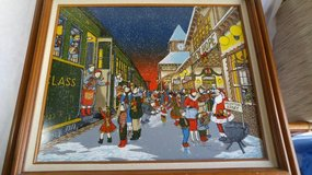 """Hargrove """" Home For Christmas """" Serigraph - Signed 134/1500 - Unframed in New Lenox, Illinois"""