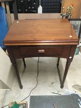 Antique singer sewing machine 66-16 with stand and sccessories in Naperville, Illinois