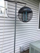 The web bug zapper by Weber (grill company) in Lockport, Illinois
