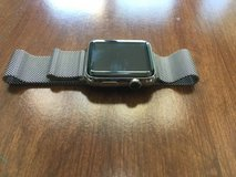 Apple Watch Milanese Loop Band - Silver (42mm) in Lockport, Illinois