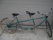 TANDEM COLUMBIA TWOSOME STYLE BIKE LIKE NEW in Naperville, Illinois