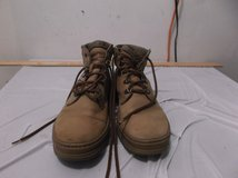 timberland tan suede leather hiking boots 69056 mens mens 8.5 8 1/2 d 40711 in Fort Carson, Colorado