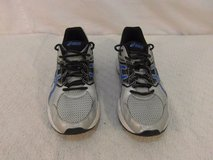 adult mens asics gel contend 3 silver blue 13 athletic running shoes 33560 in Fort Carson, Colorado