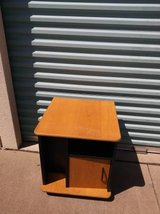 Rolling Maple and Black small rolling storage cabinet organize art in Travis AFB, California
